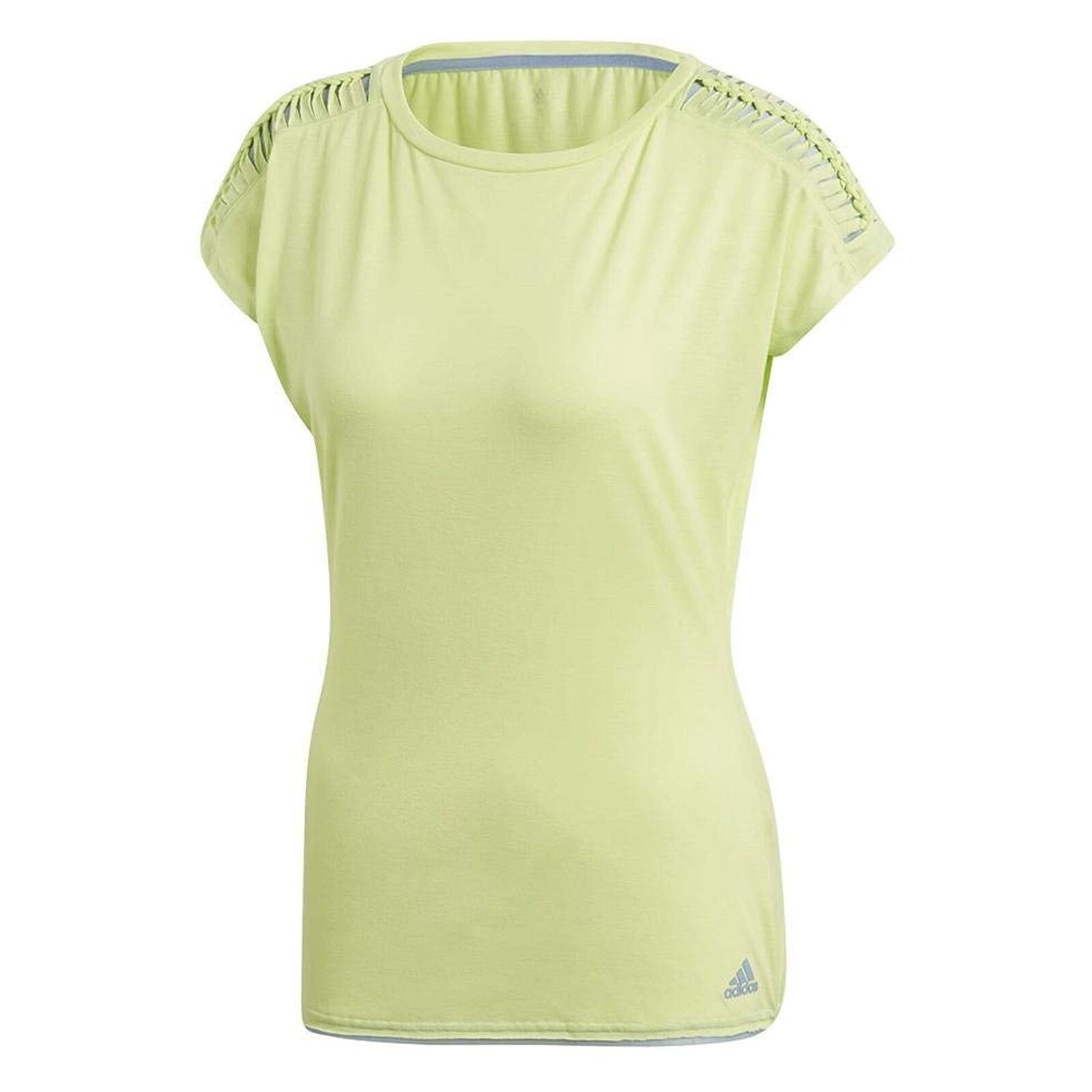 Adidas Womens Melbourne Line Climacool Breathable Lightweight Tennis T-Shirt