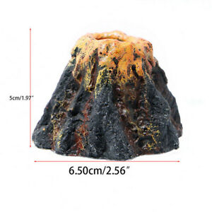 Acuario-Volcan-Forma-Burbuja-de-aire-Piedra-Bomba-oxigeno-Adorno-del-tanque-S