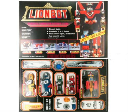 Voltron Lionbot 1980 Chogokin Die-Cast Taiwan Version Express Fast Ship MISB New