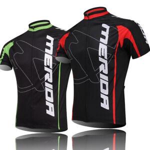 Merida Bike Jersey Men s Cycling Jersey Full Zip Bicycle Shirt ... d8e4f9ee9