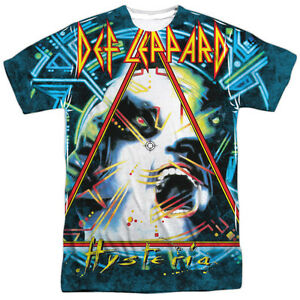 Def-Leppard-HYSTERIA-1-Sided-Sublimated-Big-Print-Poly-T-Shirt