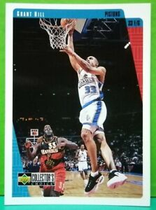 Grant-Hill-regular-card-1997-98-Upper-Deck-Collector-039-s-Choice-240