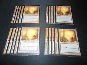 Revised Magic MTG FTG MP-NM Condition Mountain 20 Basic Land SAME ART