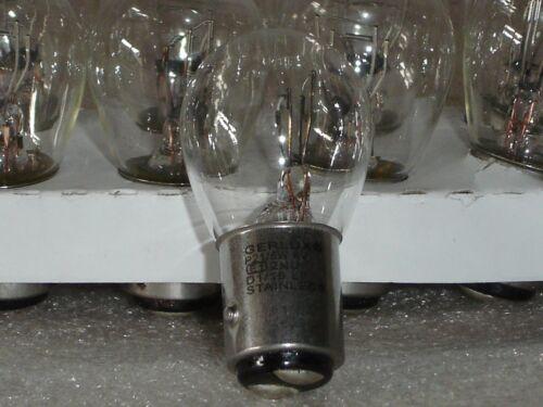 6 volt 21//5 watt SBC Bay15d classic car indicator brake lamp bulb 384 Box 10
