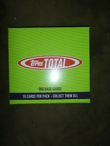 Topps Total Wave 9 2020.. 5 packs of 10 cards each so 50 cards