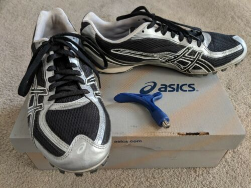Hyper Blanc G901n Md Track Chaussures Spikes Taille Noir 11m Asics Foudre qzR6Ewnfxf