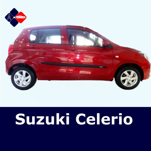 Suzuki Celerio 5D Rubbing StripsDoor ProtectorsSide Protection Mouldings