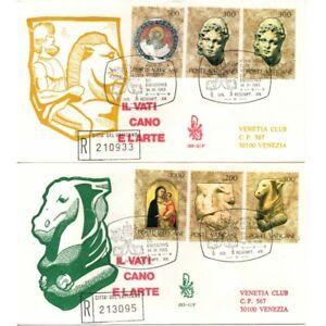 1983-FDC-Venetia-N-183-V-Vatican-Art-2-Series-Recommended-MF60936