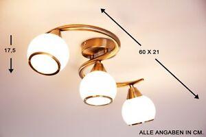 Plafoniera Ottone Vetro : Lampada da soffitto spot vetro ottone plafoniera design