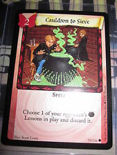 HARRY POTTER TRADING CARD GAME TCG BASIC CAULDRON TO SIEVE 79/116 COM MINT