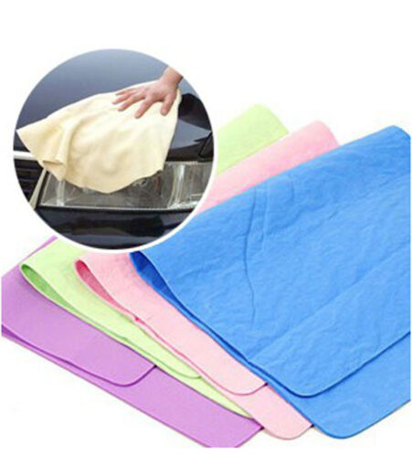Home//Car Washing Cloth Synthetic Chamois Leather PVA Dry Cleaning Towel