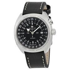 Glycine Airman SST Purist Automatic Black Dial Mens Watch 3903.199-66.LBN9