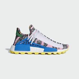 buy popular 9cdd8 a1cdc Details about Adidas HU NMD Pharrell size 10.5. Human Race Solar Pack Pink  Blue BB9531 boost