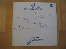 Joe McPhee Tenor Hat Hut Records Switzerland 1977 Vinyl