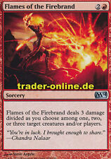 2x Flames of the Firebrand (Flammen des Hitzkopfs) Magic 2014 M14 Magic