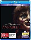 Annabelle Blu-ray UV Region B Aust Post