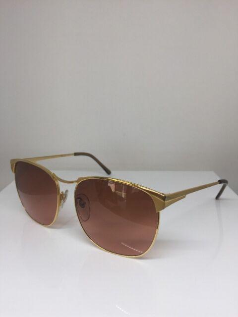 90040421c7fc Vintage Serengeti Drivers 6236L Sunglasses Eyewear Corning Optics Gold  Japan NOS