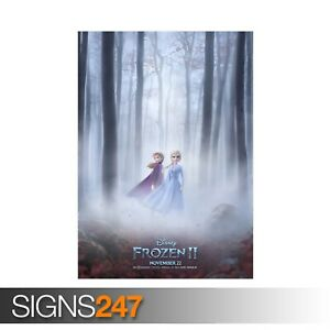 FROZEN-2-ZZ080-MOVIE-POSTER-Photo-Picture-Poster-Print-Art-A0-A1-A2-A3-A4