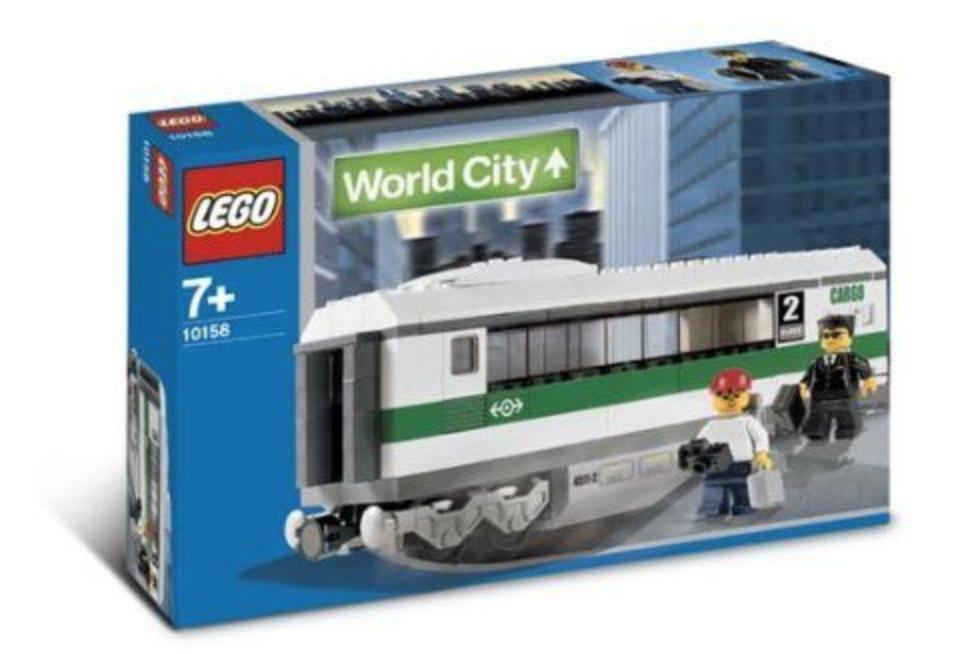 Lego High Speed Train Car (10158)