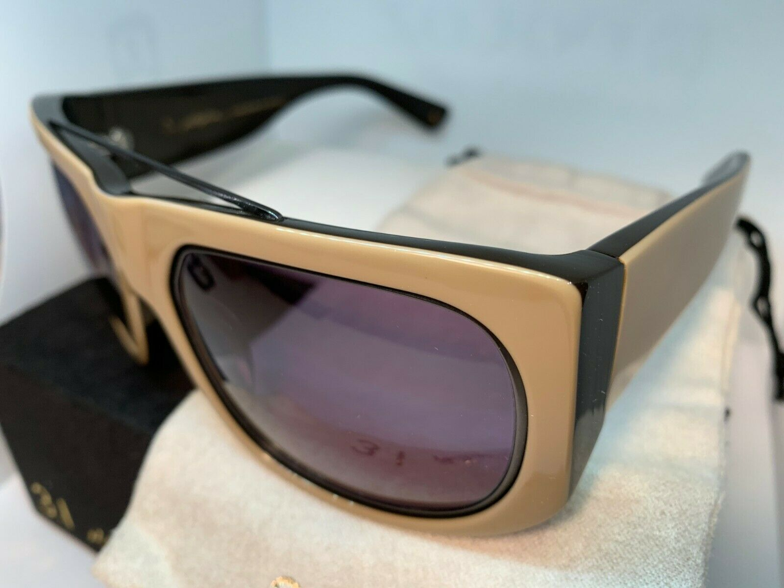 3.1 Phillip Lim Sunglasses RYDER TANBK Tan Black 59-21-135 New in case