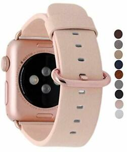 Rose Gold Apple Watch Band 38mm 40mm Leather Replacement Strap Iwatch Pink Cute Ebay