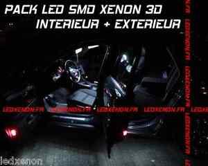 2 AMPOULE W5W A 2 MACRO LED SMD TRIPLE FLUX = 6LED IDEAL PLAFONNIER BAS DE PORTE
