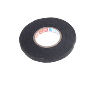 heat resistant 9mmx15m adhesive fabric cloth tape car cable harness image is loading heat resistant 9mmx15m adhesive fabric cloth tape car