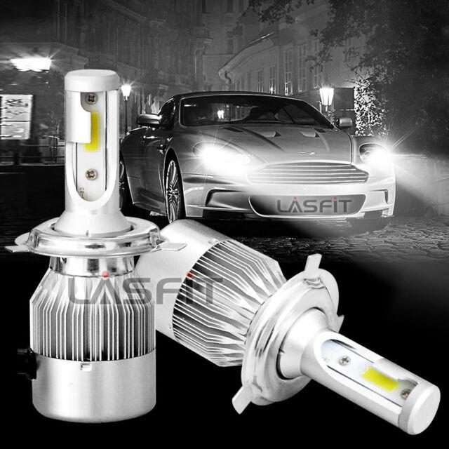LASFIT 6000K 60W H4 LED Bright Headlight Bulbs Conversion Kit Headlamp Car Truck