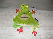 doudou grenouille verte baby deglingos état neuf