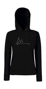 Molecola Detto Con Thc Divertente Cappuccio Tetrahydrocannabinol I Felpa Girlie 15dI0Aqxw
