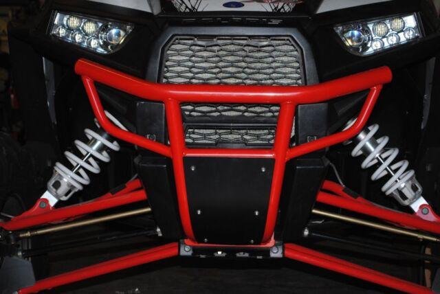 2015-2018 Polaris RZR S 900 and RZR1000 XP1K Front Bumper Havasu Red