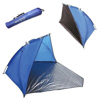 BEACH TENT ORANGE RAIN & SUN PROTECTION SHADE FESTIVAL SHELTER CAMPING FISHING