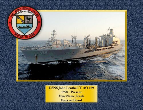 USS BRUMBY FF1044 Custom Personalized Print of US Navy Ships Unique Gift