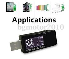 USB Voltage Current Meter Voltmeter Detector Power Capacity Charger Tester US