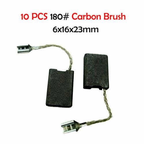 10x Motor Carbon Brushes Angle Grinder Slotting Machine Trimmer Various Size