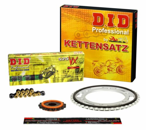 Kettensatz Yamaha TDM 900 RN08 02-03 DID VX X-Ring G/&B ENDLOS SILENT