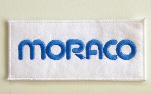 Ancien écusson MORACO -Collector - Blanc et Bleu Ciel ddE53TtC-08043014-124847623