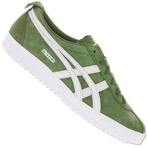 Asics Onitsuka Tiger Mexico délégation 66 d6e7l-8301 Sneaker Chaussures en cuir vert