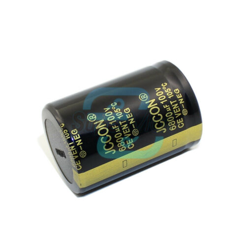 50-400V 560-6800uF High Frequency Low Impedance Inline Electrolytic Capacitors