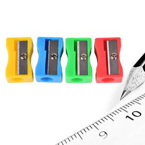 5X Einloch-Kunststoff-Bleistiftspitzer Cutter KnifeWRDE
