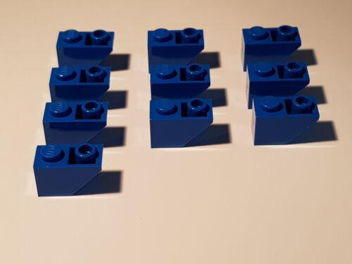 #ac17 Blue City LEGO ® 10 x 3665 toit Pierre négatif 45 ° 2 x 1 bleu 366523