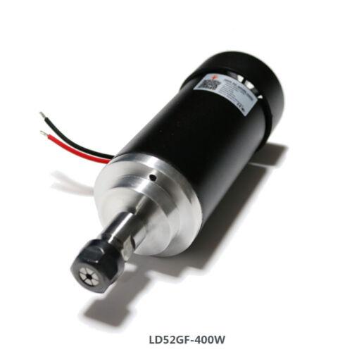 Haute vitesse refroidi par air spindle cnc engraving machine Lathe Spindle LD52GF-400W Y