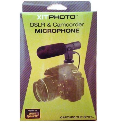Micrófono para Canon EOS T7i T6i T6s T5i T4i T3i SL3 SL2 80D 77D 70D M5 M6 M50