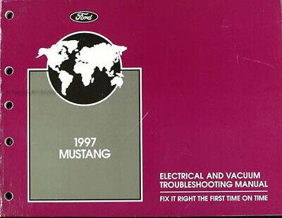 1997 Ford Mustang Electrical n Vacuum Troubleshooting ...