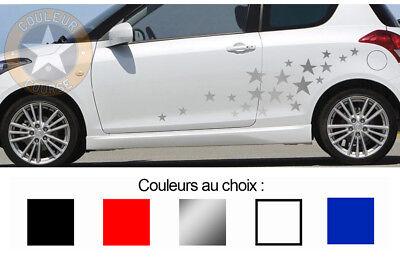 Badges, Insignes, Mascottes 1 X Set De 19 Etoiles Autocollant Sticker Deco Auto Bd411-1 Automobilia