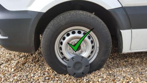 "Tapacubos rueda adornos 16/"" para adaptarse a Mercedes Sprinter Conjunto de 4"