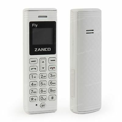 Zanco fly phone- White (The worlds smallest phone,voice changer,100% plastic)NEW