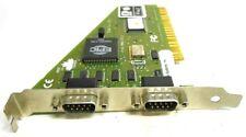 KOUTECH SYSTEMS DUAL SERIAL PCI ADAPTER CARD, I/0 FLEX, 310225-30249, KS304481