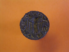 Medieval Seal With Eagle Motif And Latin Legend - UK Metal Detecting Find