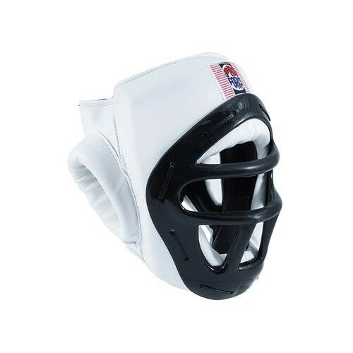 Proforce Headgear with  Face Cage Shield Karate Tae Kwon Do Sparring - White  first time reply